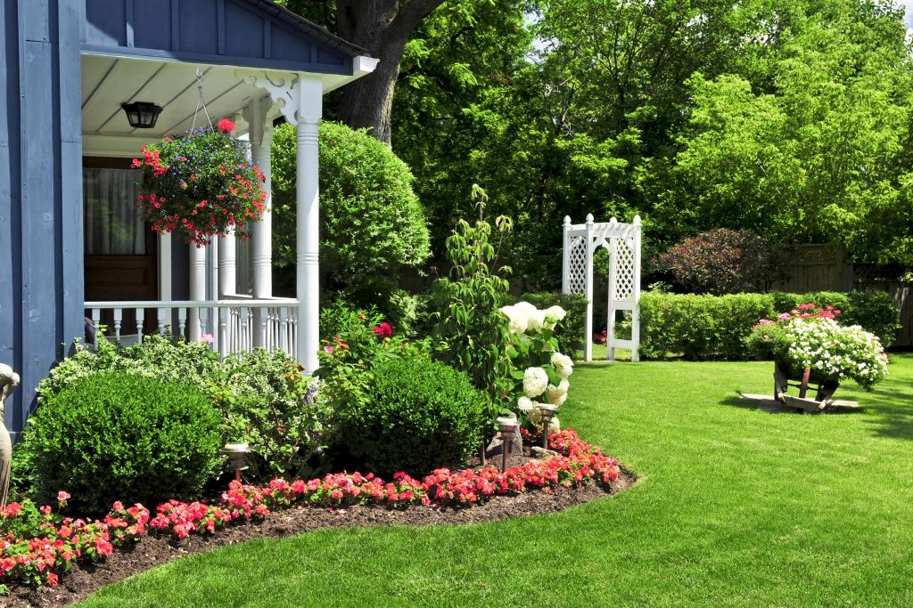 flower space for garden pest control